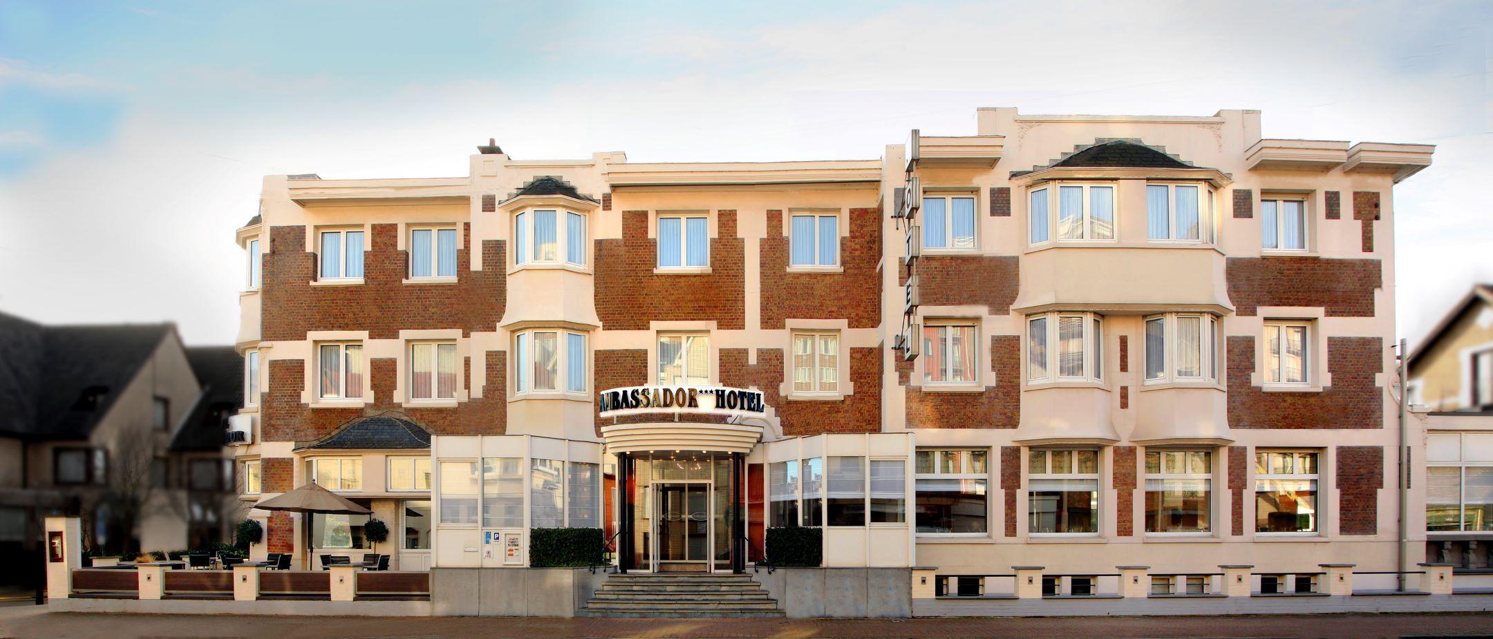 voorhevel hotel ambassador de panne kust