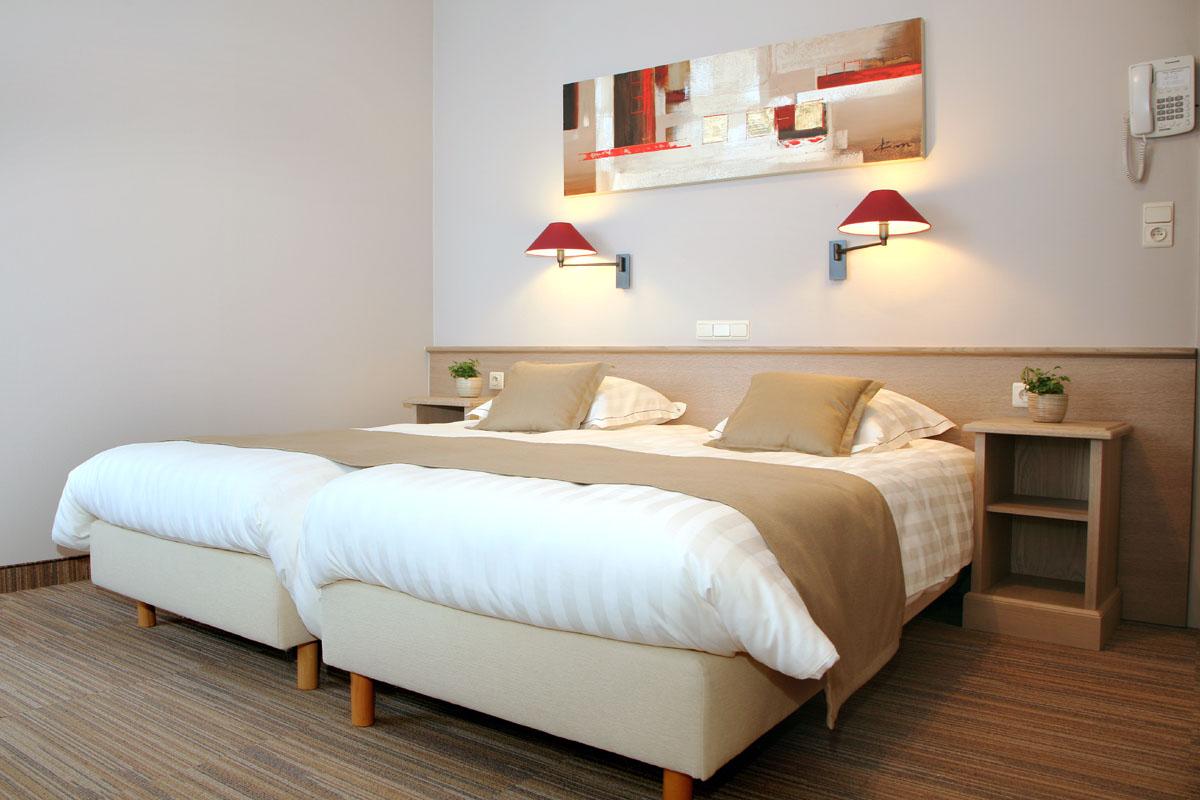 kamer hotel ambassador de panne kust