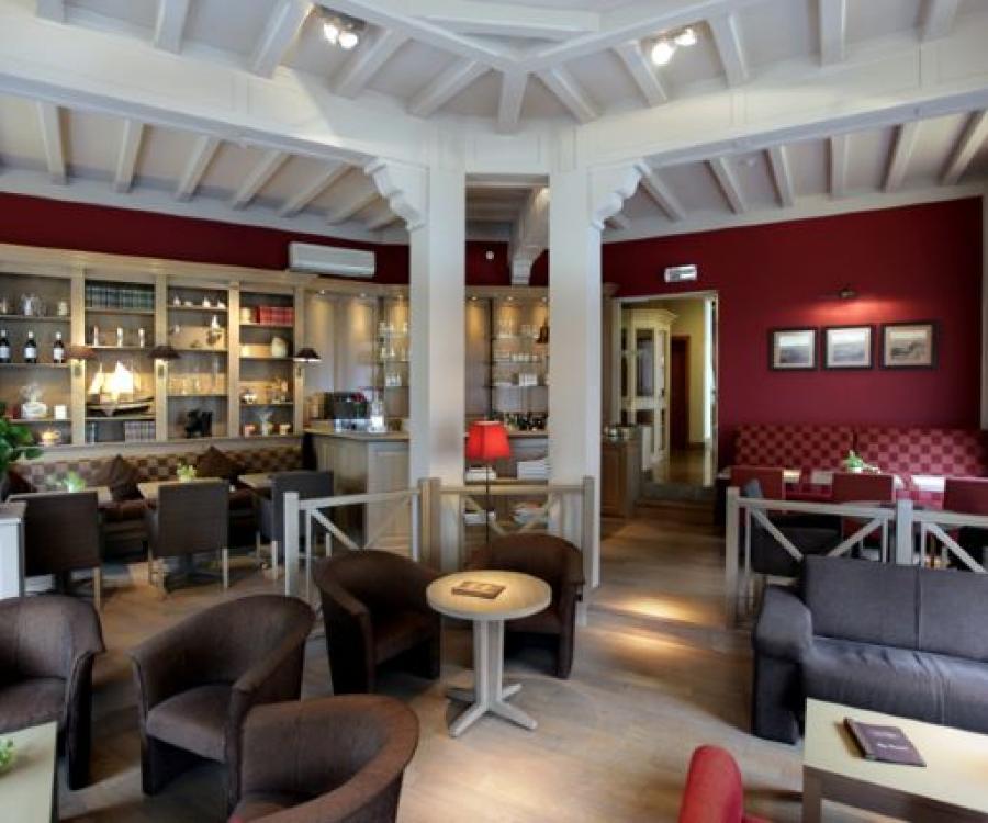 Hotel De Panne belgische Küste Bar Ambassador
