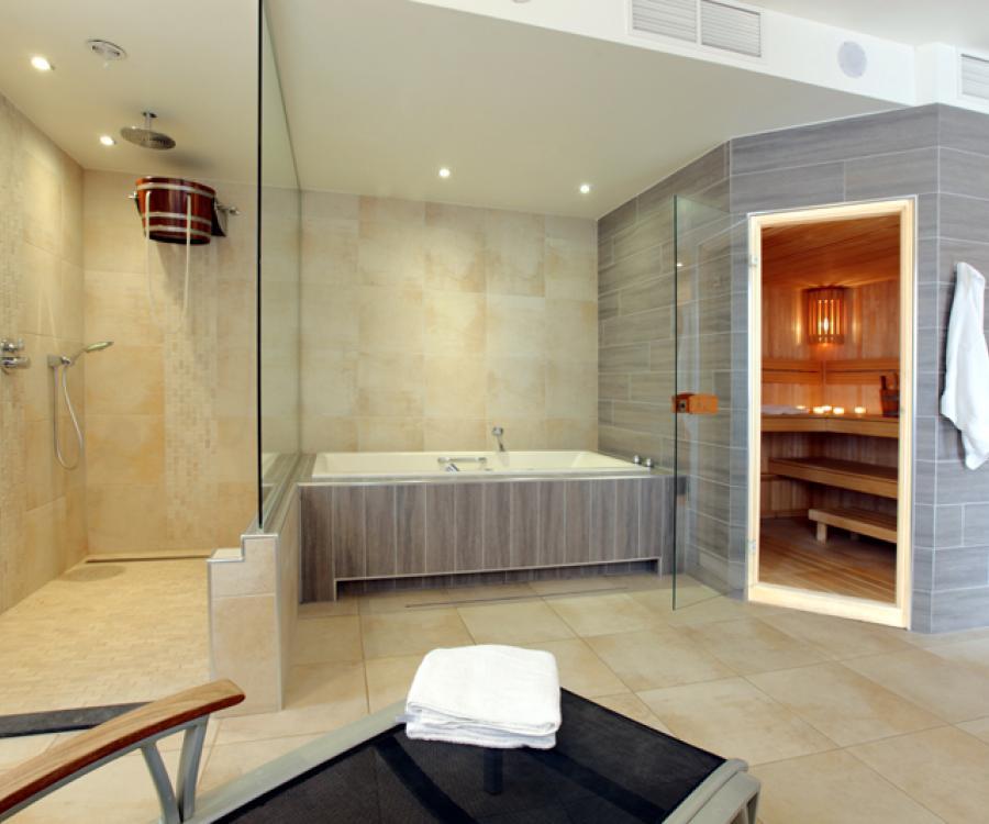 sauna hotel ambassador de panne belgische Küste