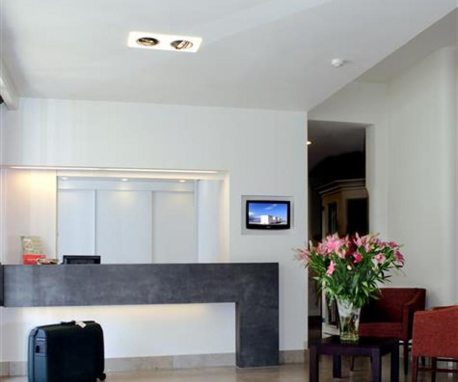 Hotel De Panne belgische Küste Hall Ambassador