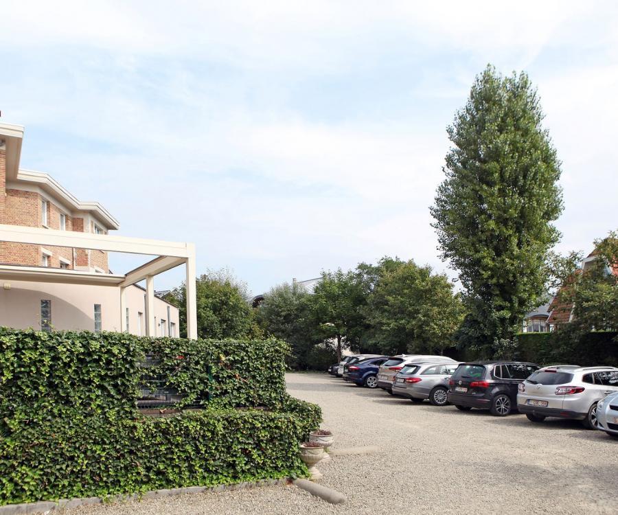 parking hotel ambassador de panne belgische Küste